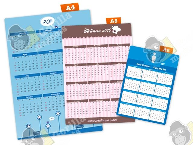 Calendario Con Foto Personali.Calendari Magnetici Personalizzati